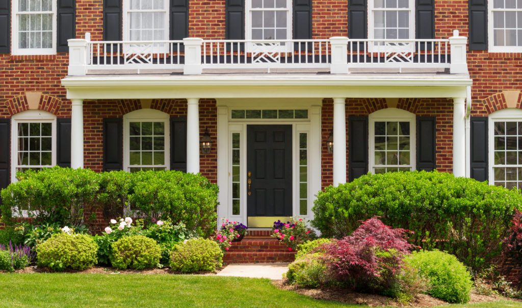 care home entrance