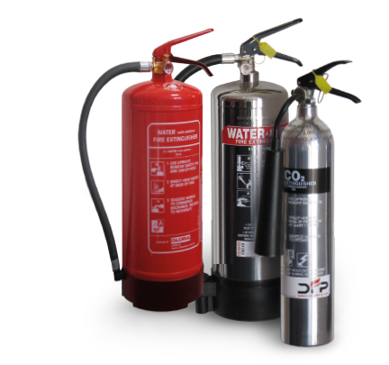 fire extinguishers for different fires
