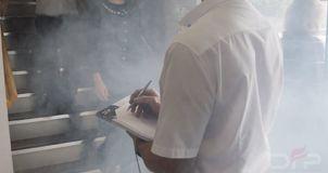 fire safety training smoke