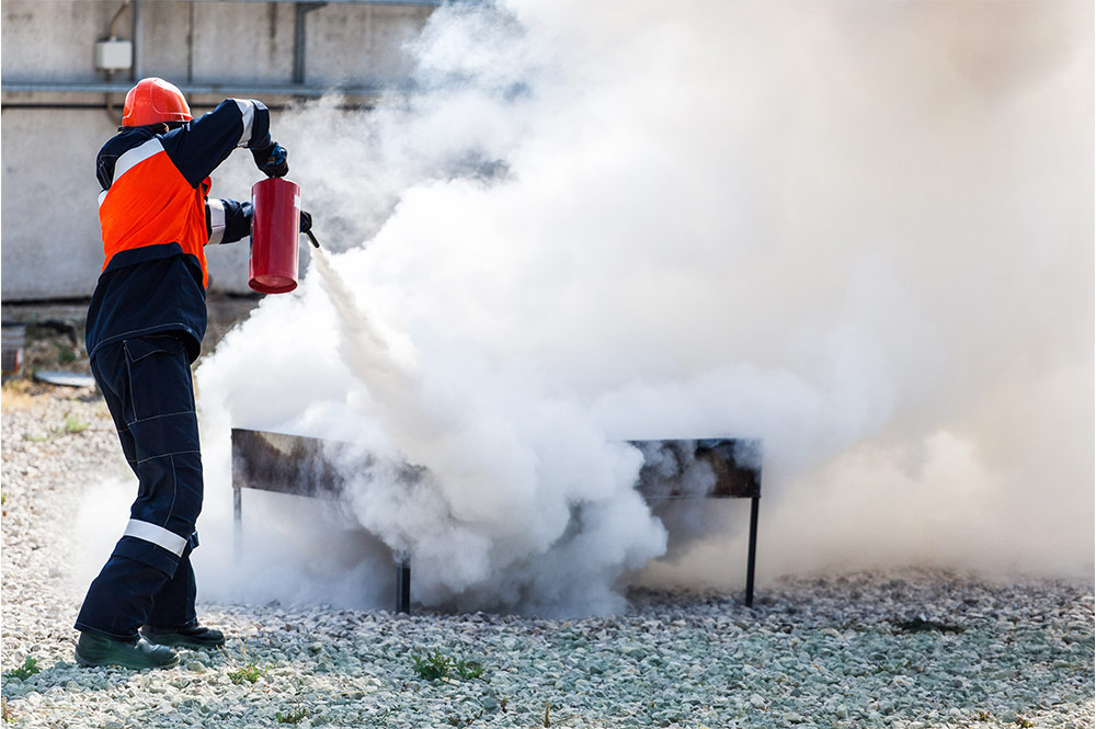 Should I still have Dry Powder Extinguishers in my premises?