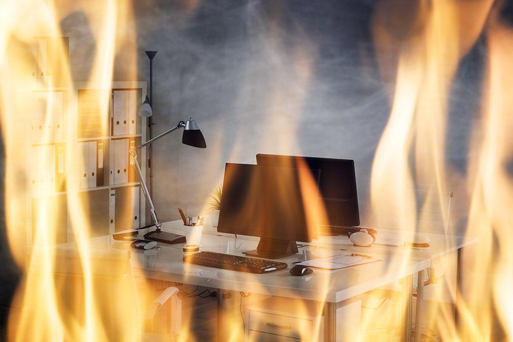 office fire