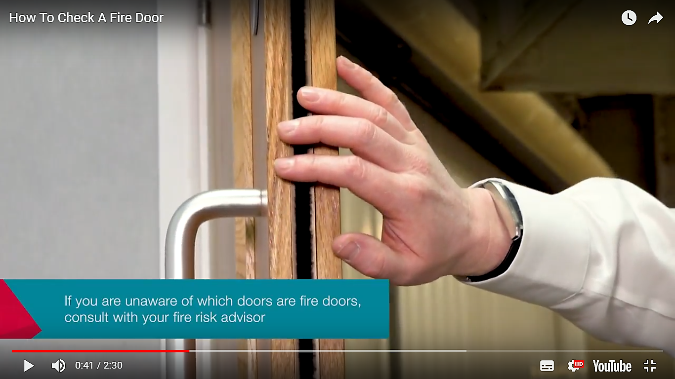 Fire Door Safety Week: closing the door on fire and smoke