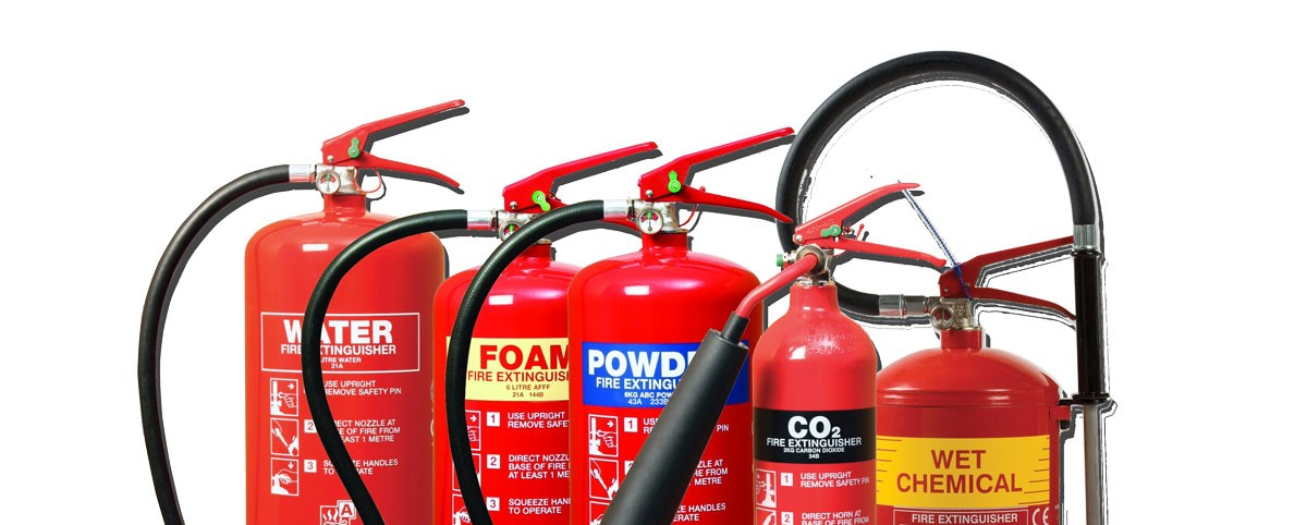 What colour fire extinguisher do I need?