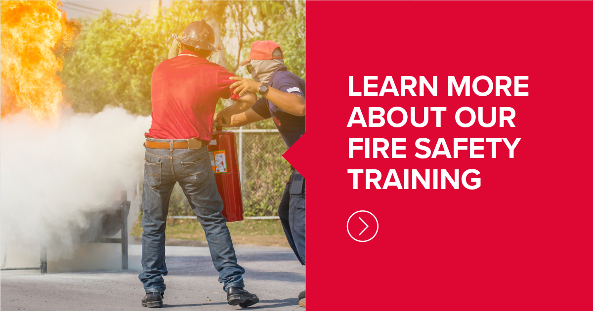 Fire safety training provided to care home employees